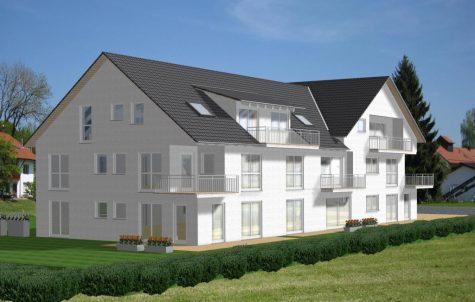 Ideal für Gartenliebhaber! 3 Zi.-Erdgeschoss(Neubau)wohnung mit großer Gartensondernutzungsfläche, 72145 Hirrlingen, Erdgeschosswohnung