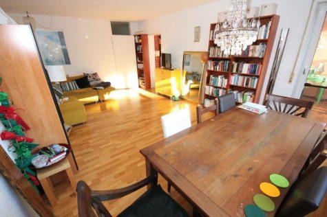 2-Zi.-Erdgeschosswohnung mit Einbauküche, überdachter Süd-Terrasse, Keller und Pkw-Stellplatz, 72072 Tübingen, Erdgeschosswohnung